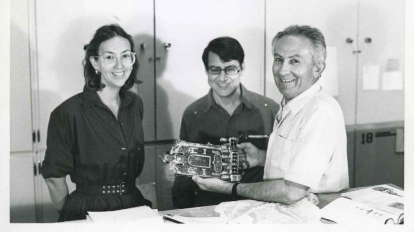 פרופסור בצלאל נרקיס ופרופסור שלום צבר